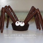 Peanut Butter and Chocolate Spiders