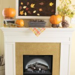 Fall Artwork and My Mantel Reveal