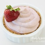 Almond Joy Mousse & Strawberry Mousse
