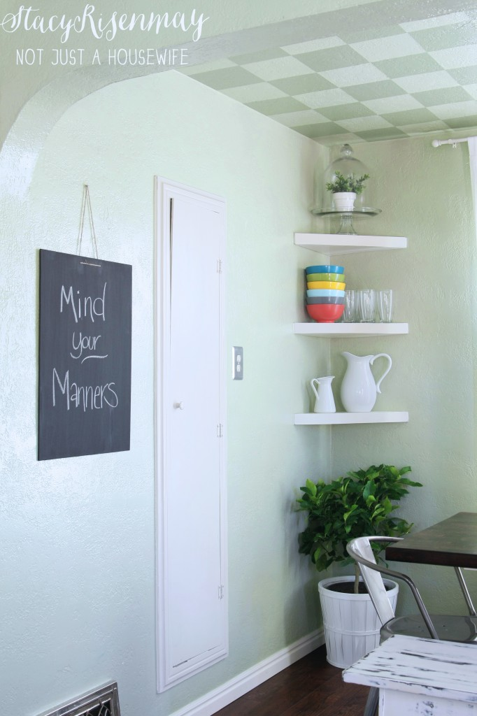 """dining room chalk board """"mind your manners"""""""