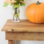How To Build A Simple Entryway Table