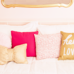 Little Girl's Room Refresh {Gold, White, Blush}