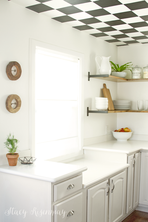 neutral kitchen - I love that little geometric bowl!