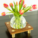 Glass Light Shade Vase: Three Ways!