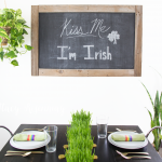 St. Patrick's Day Decor { + FREE Printable}