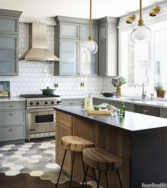 mixed metals in the kitchen