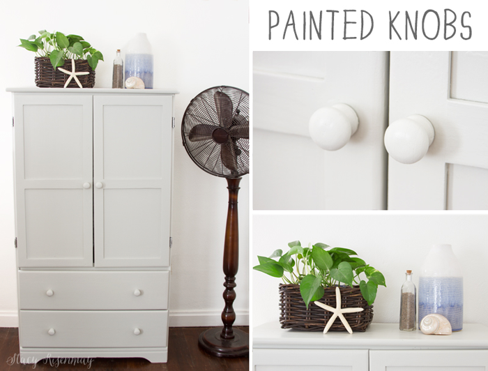 painted knobs