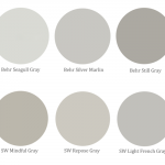 Gray Paint for Kitchen Cabinets {Help Me Decide!}