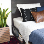 DIY Modern Beds {Teen & Tween Room}