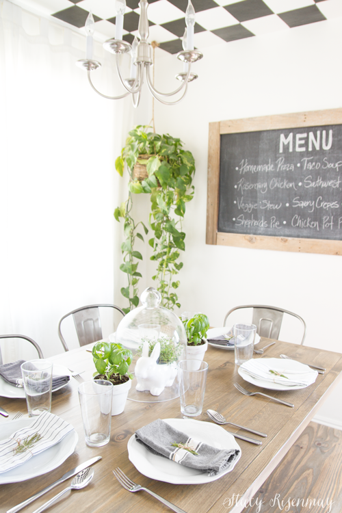 Build a new top for your table! Easy to follow steps with photos.