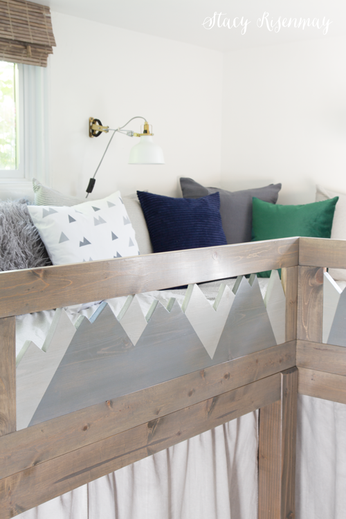 mountain themed beds for boys