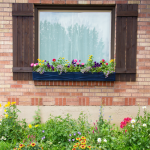 Painting Window Boxes {Giveaway}