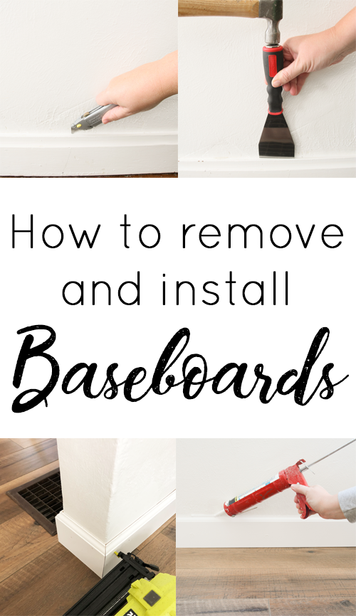 how to install baseboard
