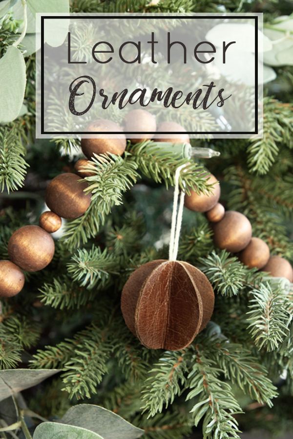 leather ornaments